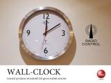 スイープ式電波時計(壁掛け時計)