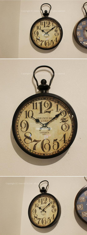 アンティークデザイン・壁掛け時計