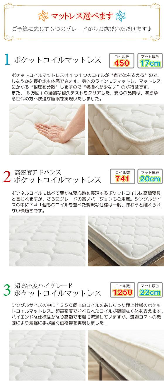 収納付き・多機能シングルベッド(ブラック)【完売しました】