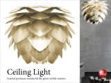 北欧デザイン・1灯シーリングライト(LED電球対応)