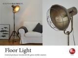 高さ調節可能!スタイリッシュ1灯フロアライト(LED&ECO球対応)