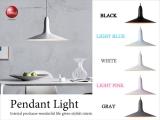 北欧デザイン・スチール製1灯ペンダントライト(LED対応)