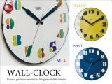 ヴィンテージデザイン・インテリア壁掛け時計(音なしスイープ針)