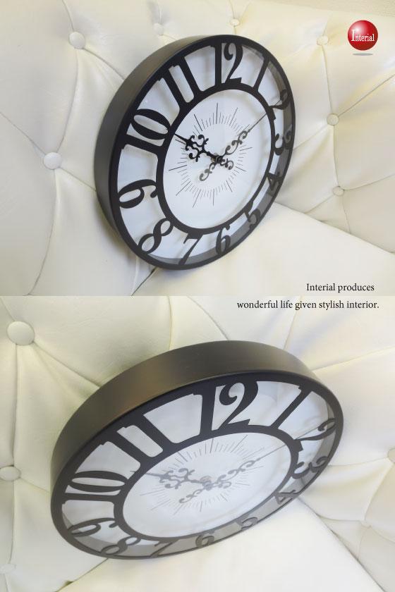 スタイリッシュ壁掛け時計