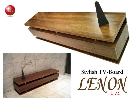 キャスター付きテレビボード「LENON」・幅160cm(日本製・完成品)開梱設置サービス付き★