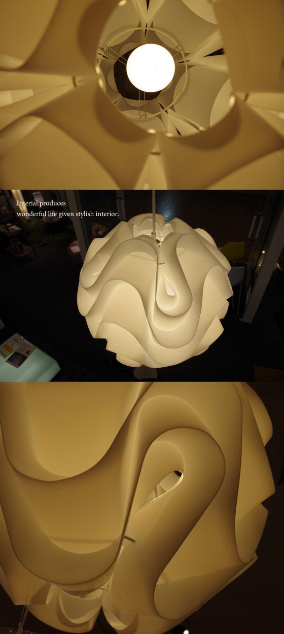 北欧デザイン・スタイリッシュペンダントランプ(1灯)LED電球&ECO球使用可能