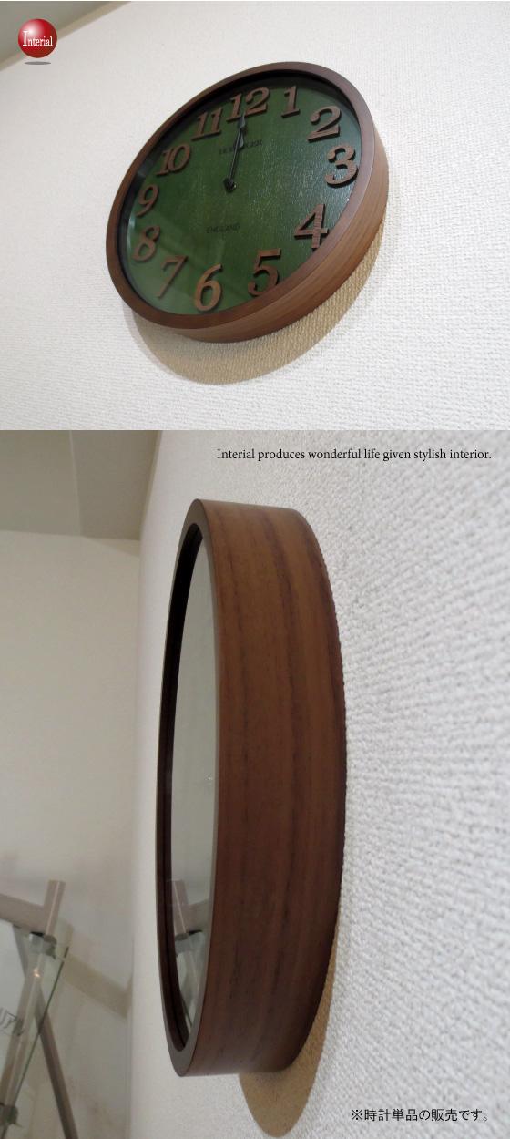 ウッド製グリーンスタイル・インテリア電波時計