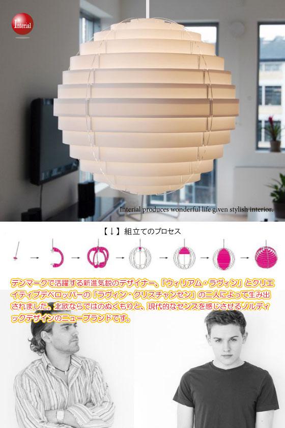 北欧デザイン・ボール型ペンダントライト(1灯)【完売しました】