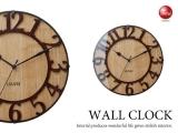 クラシックデザイン・インテリア壁掛け電波時計