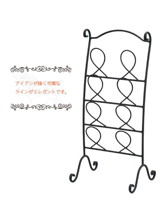 ラインアートデザイン・猫脚スリッパラック