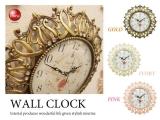 ガーリーテイスト・壁掛け時計