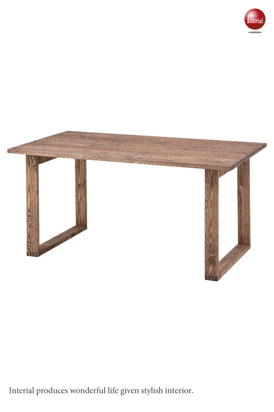 幅150cm・天然木パイン製ダイニングテーブル
