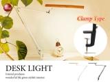 タッチセンサー採用!クランプ式LEDデスクライト(LED8W電球使用!)