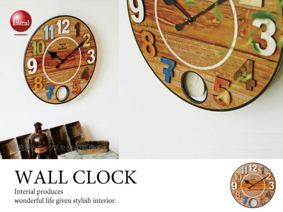 ナンバーデザイン振り子・壁掛け時計