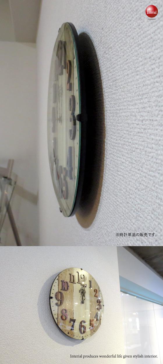 ナンバーデザイン・インテリア電波時計