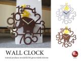 動物デザイン振り子・壁掛け時計