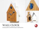 鳩時計デザイン・インテリア振り子時計&置時計(キーフック付き)