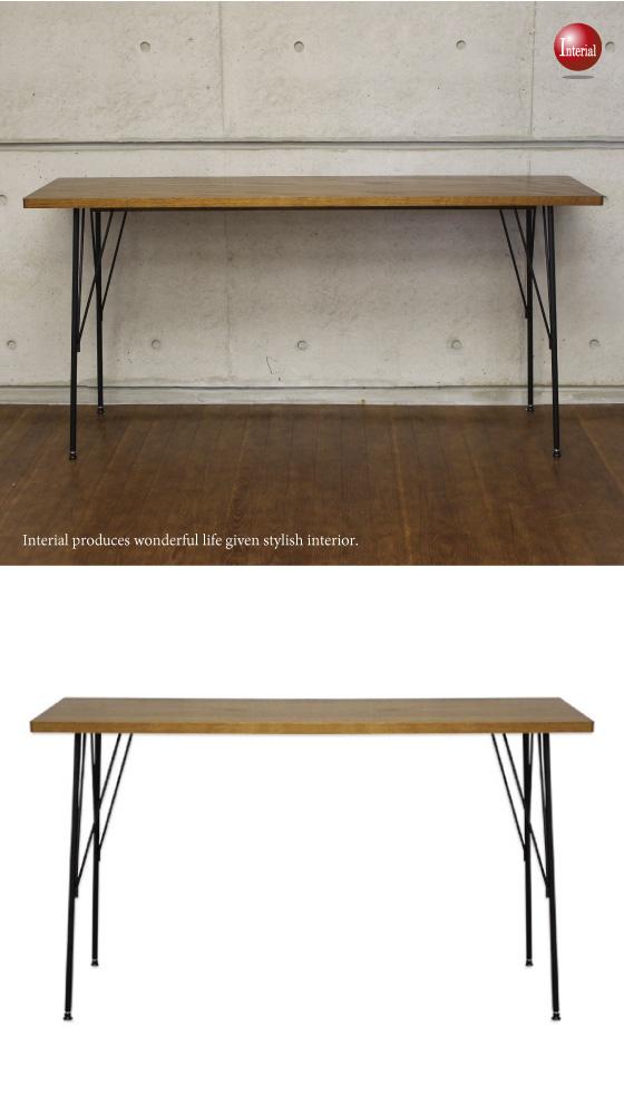 天然木オーク突板使用・幅150cmデスク