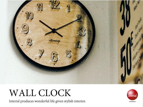 カジュアルヴィンテージ・インテリア壁掛け電波時計
