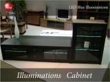 LEDイルミネーション・幅67cmキャビネット(日本製・完成品)開梱設置サービス付き