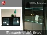 LEDイルミネーション・幅180cmサイドボード(日本製・完成品)開梱設置サービス付き