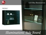 LEDイルミネーション・幅108cmサイドボード(日本製・完成品)開梱設置サービス付き